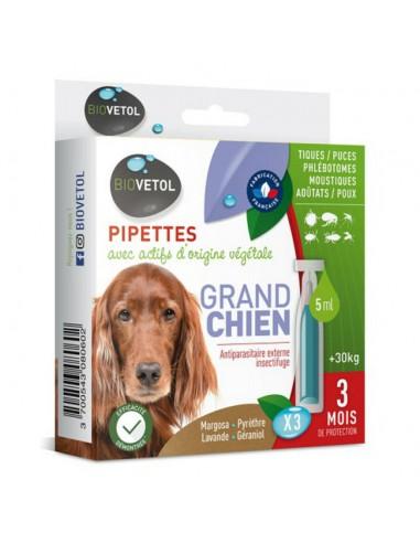 Insectifuge naturel pour chien Anti puce tique