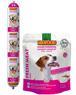 Aliment complet pour chien Biofood