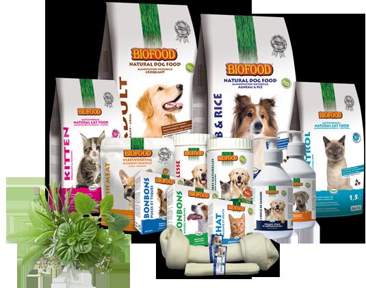 Alimentation naturelle pour chien et chat